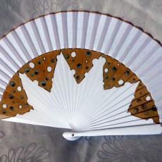 Gastronomic hand fans