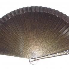 Abanico liso metalizado en varios colores
