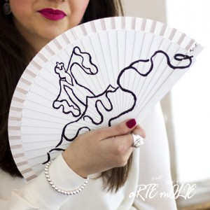 Si eres flamenca, este es tu diseño original y exclusivo.