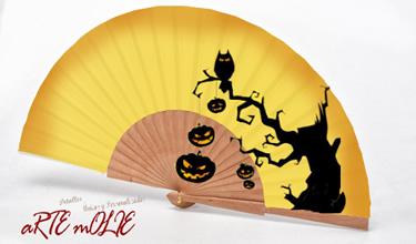 Abanicos Halloween