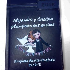 Agenda Día página Los novios planean su boda 14,5 x 21 cm