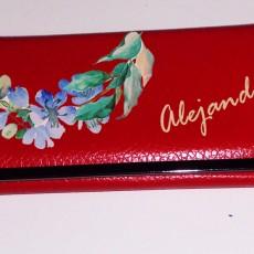 Original cartera personalizada con tu nombre