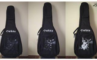 El proceso de personalizar una funda de guitarra