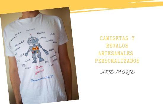Camisetas personalizadas artesanales