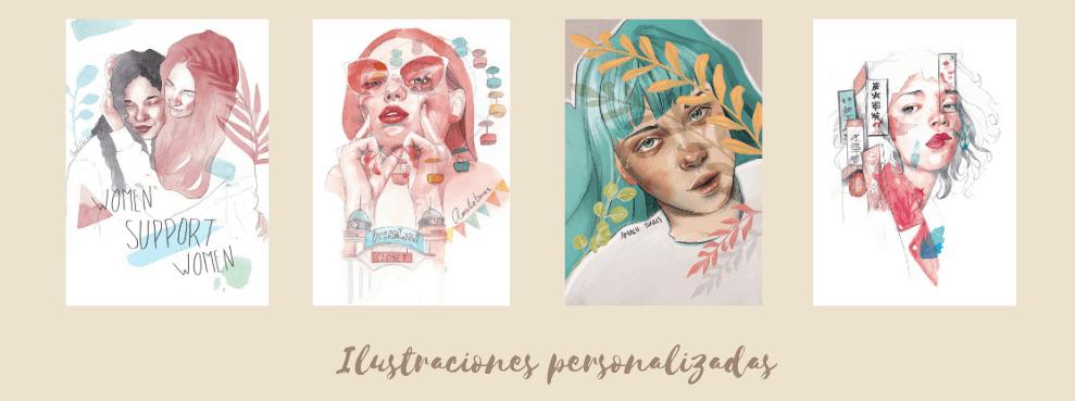 ilustraciones personalizadas